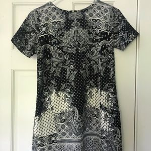 Abercrombie & Fitch Navy Paisley Dress